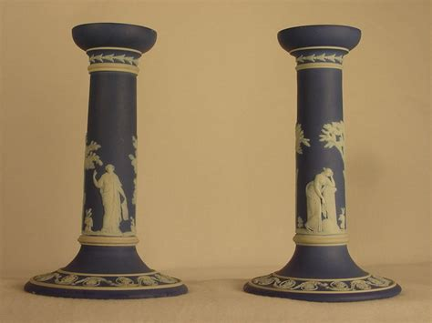 candlestick ls for sale blue and white wedgwood candlesticks for sale antiques