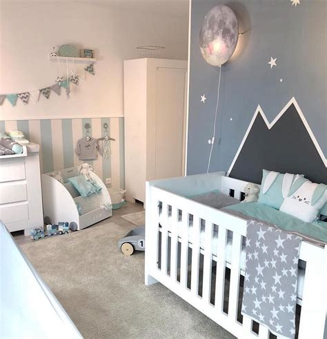 Kinderzimmer Junge Inspiration by Babyzimmer In Mint Grau Kinderzimmer Inspiration