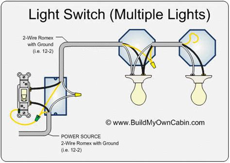 Electrical Wiring Diagram From Wall Switch Two