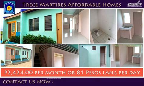 affordable property listing of the philippines trece martires most affordable rent to own house