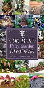 100, Best, Diy, Fairy, Garden, Ideas