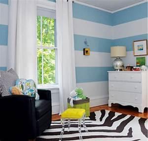 Kinderzimmer In Blau : kinderzimmer blau wei gestreift bibkunstschuur ~ Sanjose-hotels-ca.com Haus und Dekorationen