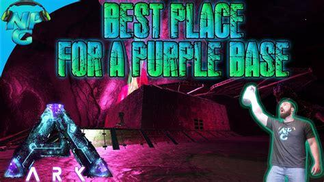 aberration ark base purple place building