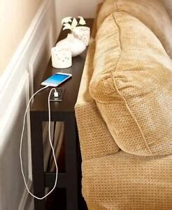slim console sofa table  electrical cell phone