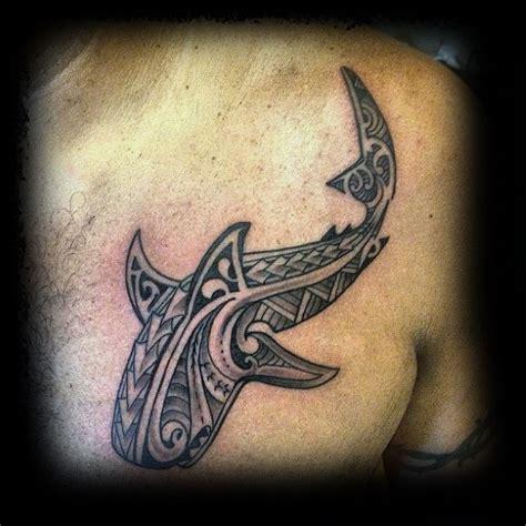 50 Tribal Shark Tattoo Designs For Men  Seadweller Ideas