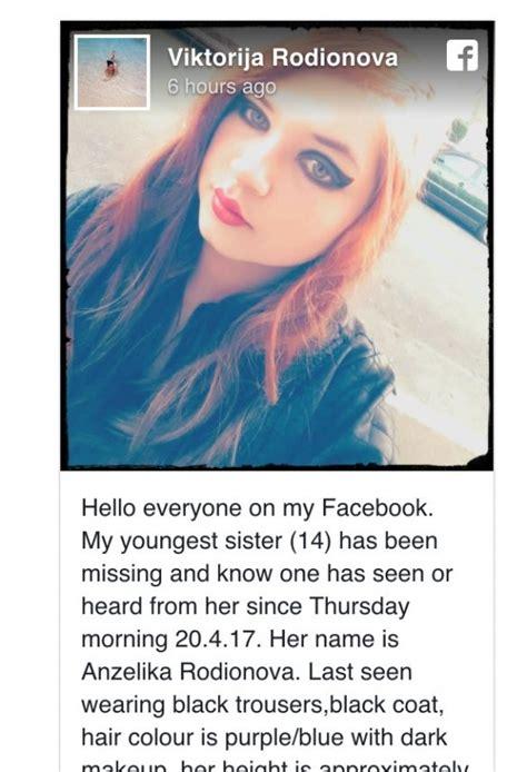 Lūdz palīdzību! Anglijā pazudusi pusaudze no Latvijas ...