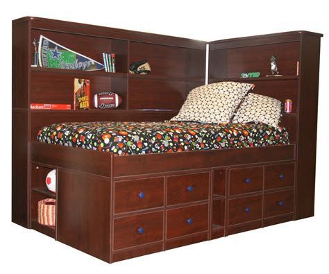 Surprising Captains Bed Queen For Master Bedroom