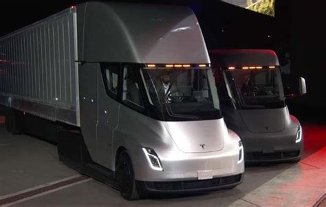 Tesla Unveils Electric Truck And World's Fastest