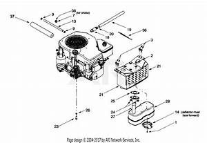 Troy Bilt 13bx609g063  2000  Parts Diagram For Muffler