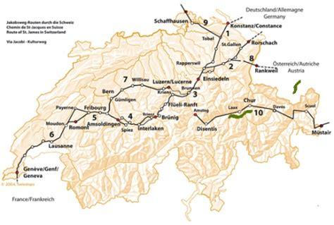 Chemin De St Jacques De Compostelle Carte Suisse by Une Sortie De Secours Du Ceva Sur Le Chemin De Compostelle