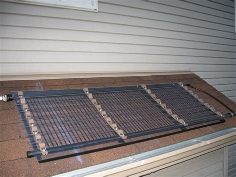 Solarkollektoren Selber Bauen by Diy Solar Pool Heater Pool