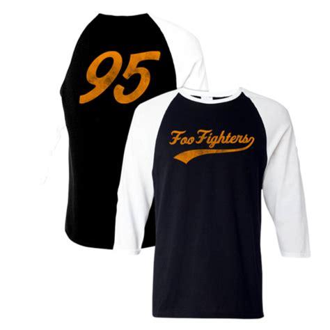 foo 3 4 sleeve raglan foo fighters store want