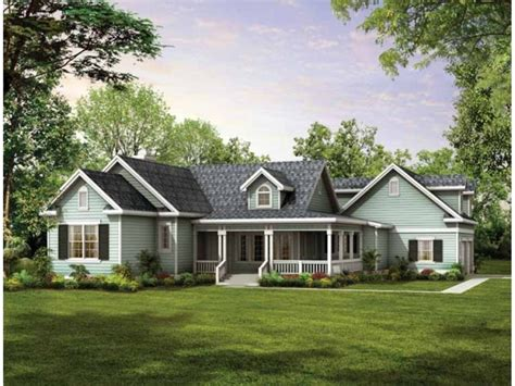 small country accent ls small country house plans with wrap around porches