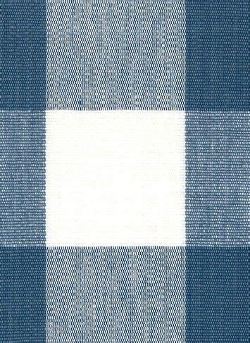 lyme french blue dl buffalo check yd fabric