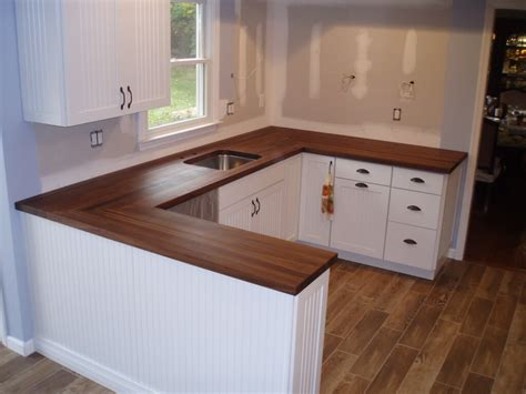 white cabinets with wood countertops premium wide plank wood countertops brooks custom