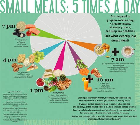 Small Meals 5 Times A Day Visually