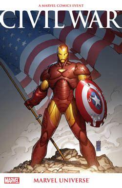 civil war marvel universe tpb