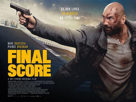 final score film trailer explodes  dave bautista