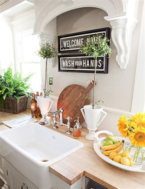 above kitchen sink decor options for a kitchen design with no window the sink 3965