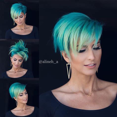 casual short hairstyles  women modern short haircut ideas