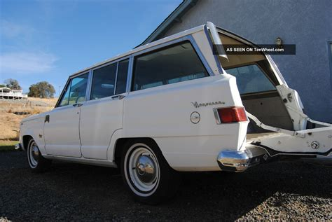jeep kaiser wagoneer 1964 1965 jeep wagoneer kaiser willys fsj 230 ohc 4 door j