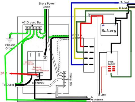 wfco wiring diagram teardrops and cers trailer wiring diagram cer trailers