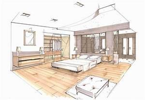 Plan De Maison D Architecte : plan d 39 architecte esquisse perspective quoi servent ils ~ Melissatoandfro.com Idées de Décoration