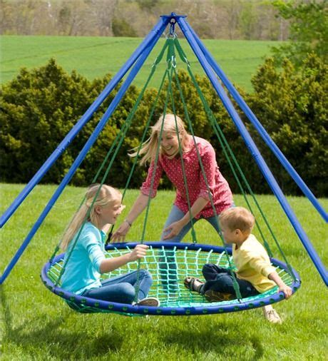 Sky Island Swinging Platform For Fun, Kicking Back Or Even