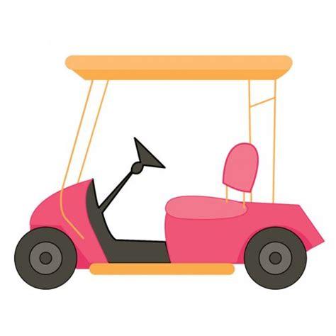 Golf Cart Clip Golf Buggy Clip