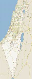 Large detailed road map of Israel with all cities | Israel ...