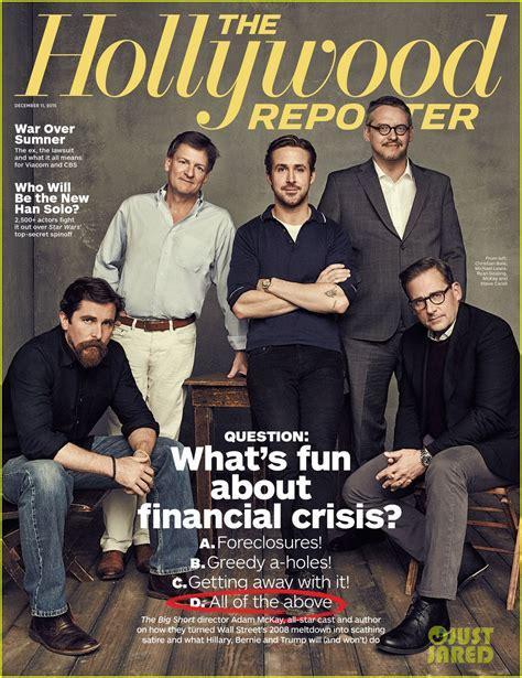 Ryan Gosling Steve Carell Christian Bale Cover Thr