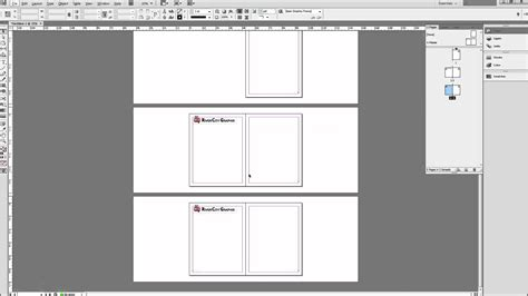 Create Page Template by Indesign Tutorial Using Master Pages To Create Templates