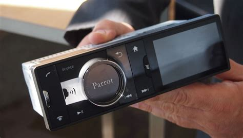 parrot launches   android car stereo web