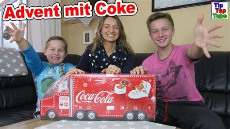 coca cola adventskalender 2016 advent mit coke coca cola adventskalender wir 246 ffnen alle t 252 rchen tiptaptube