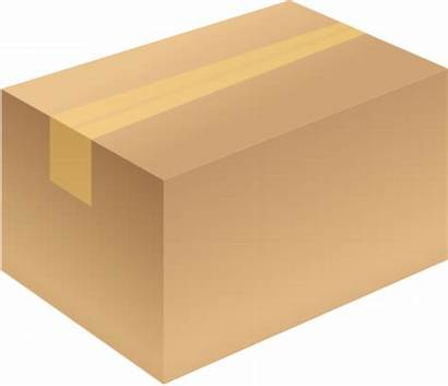 Carton Box Closed Vector Brown Package Icon