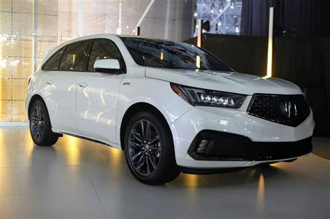 coming    acura mdx  spec package