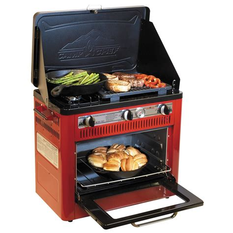 camp chef outdoor camp oven  grill propane p