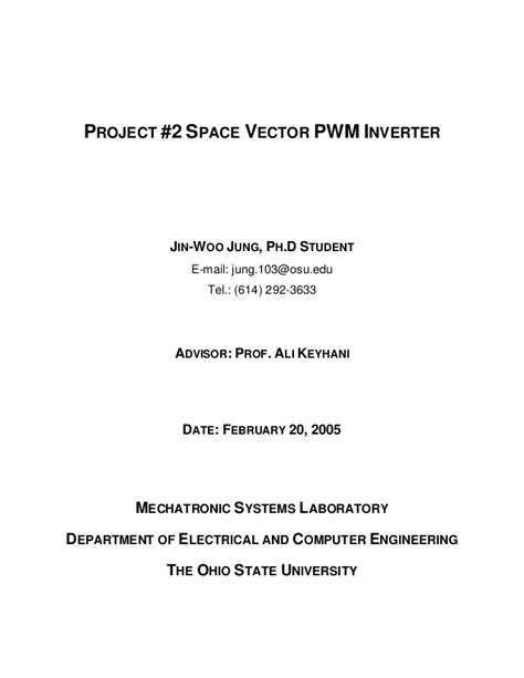 Space vector pwm_inverter