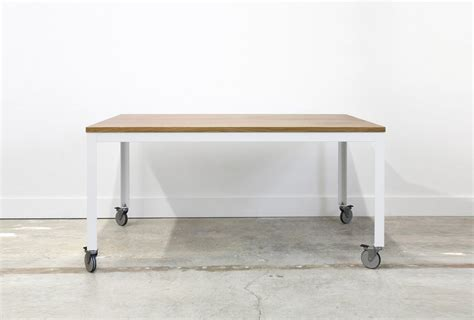 easy pieces dining tables  wheels remodelista