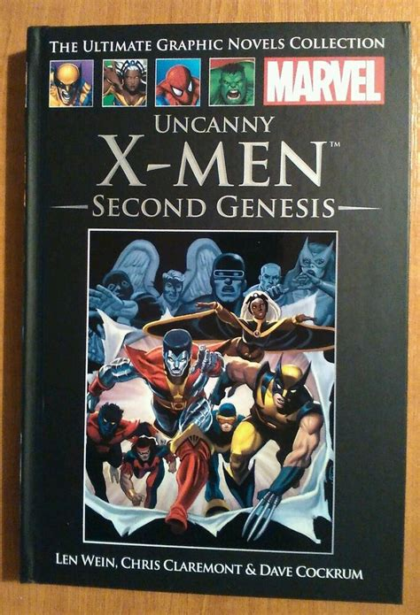 graphic novel marvel collection ultimate genesis second