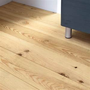 Parquet massif seignosse pin des landes brut lapeyre for Parquet massif pin