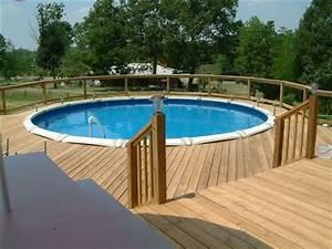 decks, around, above, ground, pools