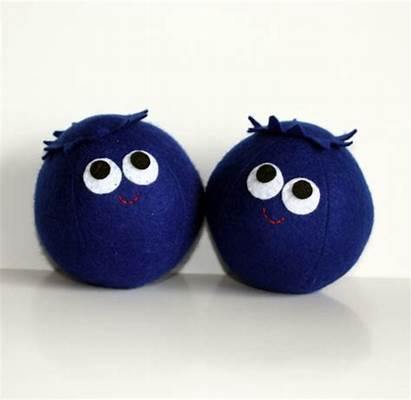 Blueberry Blueberries Plush Critters Crochet Crafts Toy