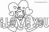 Coloring Valentines Bubble Happy Letters Valentine Mom Printable Sheets Template Say Heart Jeremyrenners sketch template