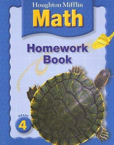 Houghton Mifflin Math Homework Book By Houghton Mifflin Company  Reviews, Description & More