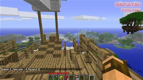Minecraft Zeppelin Mod Youtube