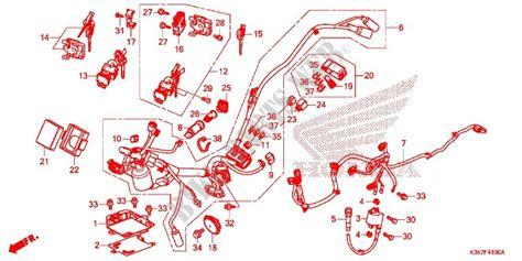 wire harness battery for honda pcx 125 2015 honda motorcycles atvs genuine spare parts catalog