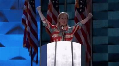 Giphy Election Gifs Meryl Streep Vote Cheer