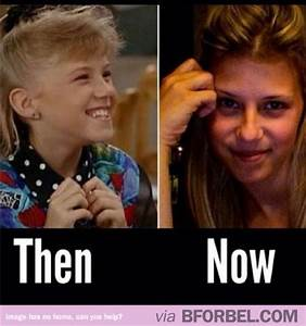 """Stephanie Tanner from """"Full House"""" all grown up. Seriously ..."""