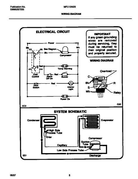 Ge Side By Side Wiring Diagram by Ge Freezer Wiring Diagram Wiring Diagram